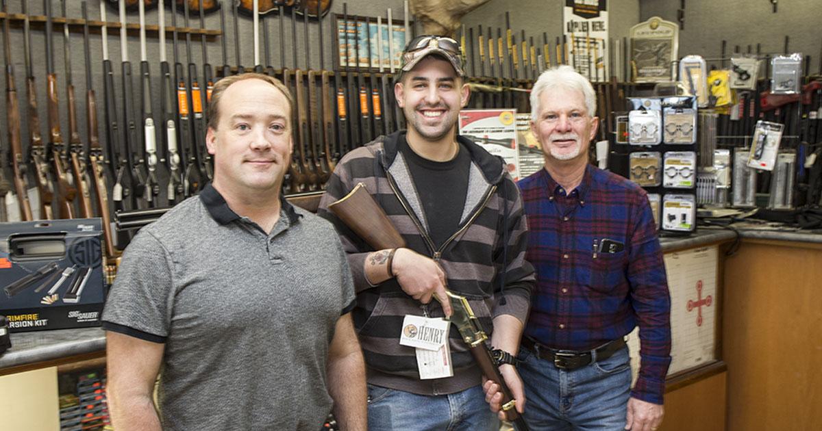 2018 gun raffle winner