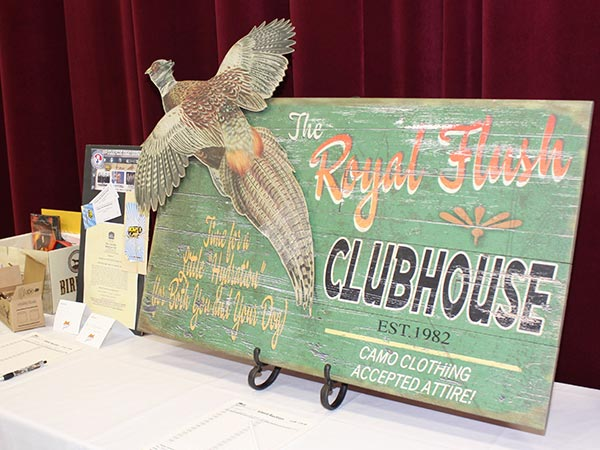 Pheasants Banquet Silent Auction